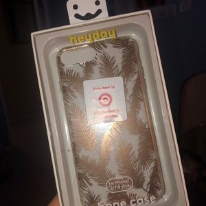 Clear phone case with designs